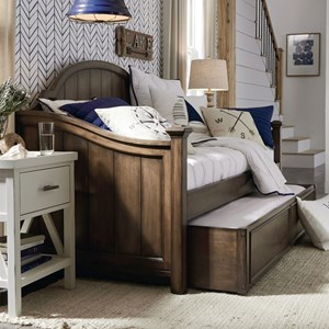 Transitional Daybed with Trundle