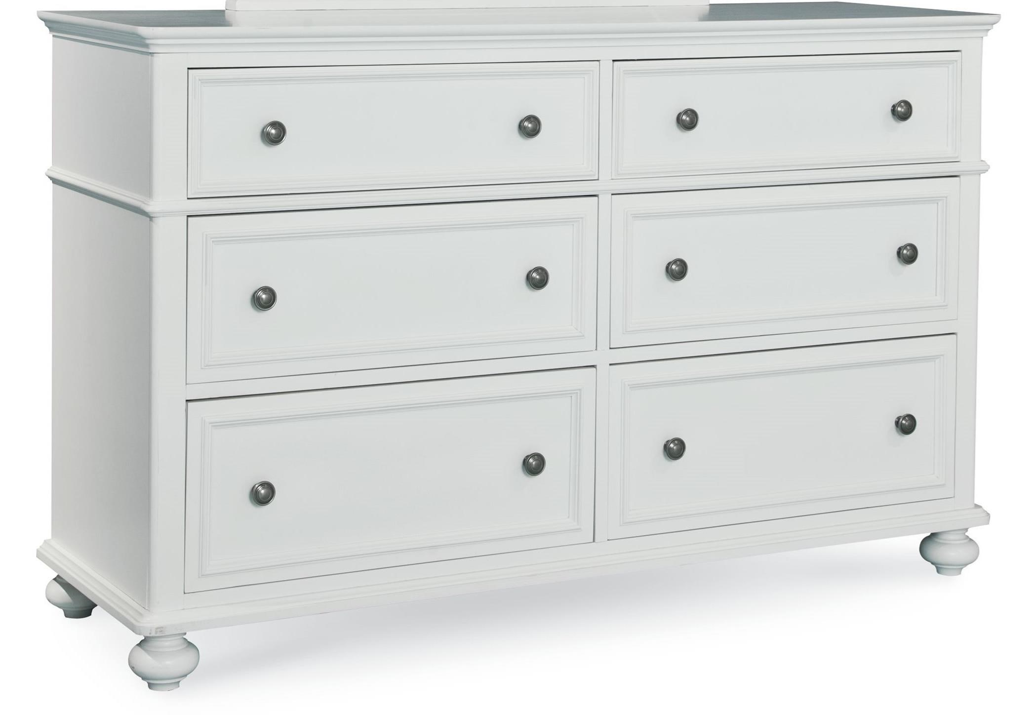 Madison Dresser with 6 Drawers by Legacy Classic Kids at Virginia Furniture Market
