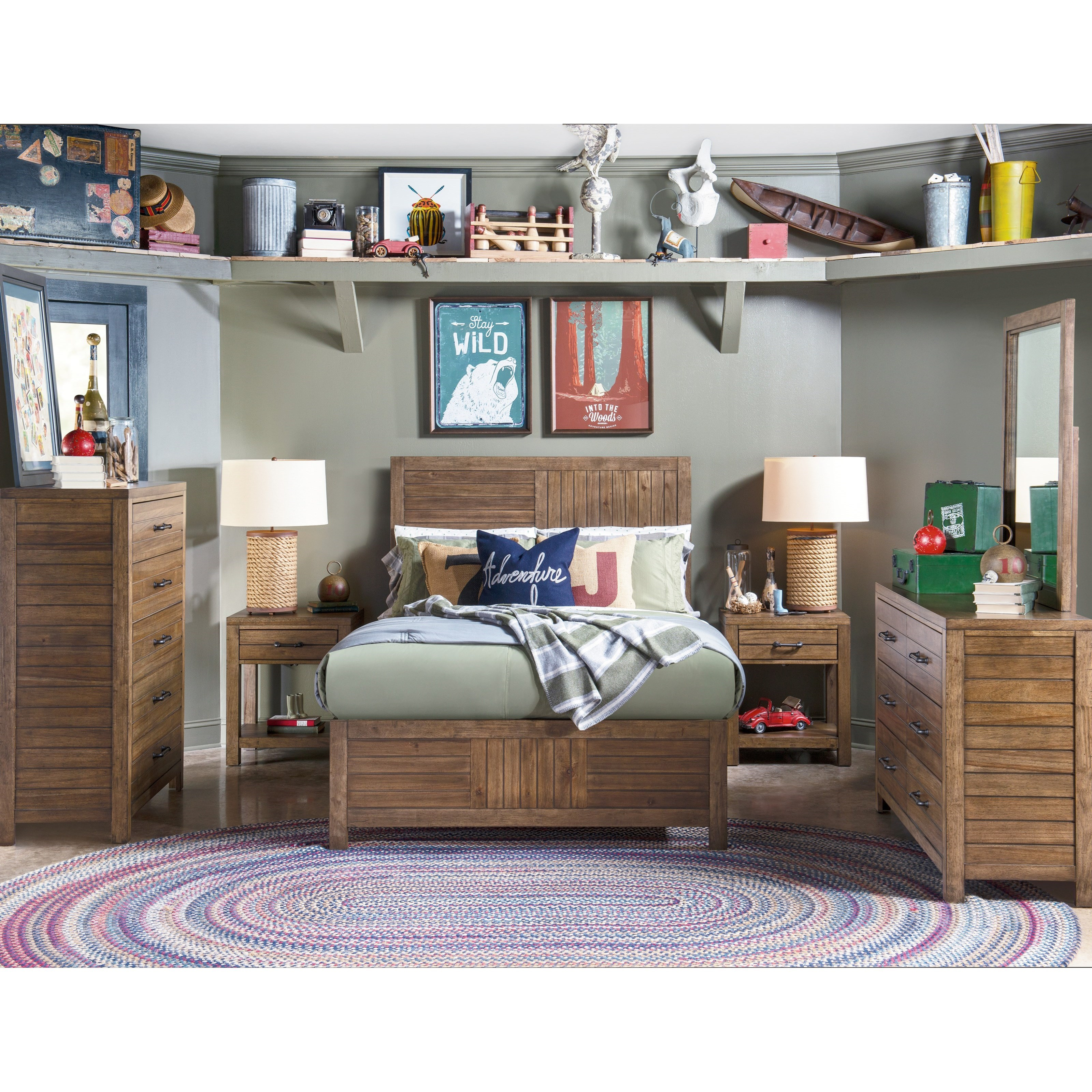 Summer Camp Full Bedroom Group by Legacy Classic Kids at Pilgrim Furniture City