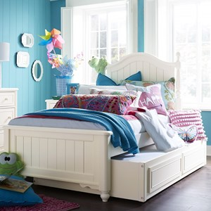 Full Bed with Trundle/Storage Drawer