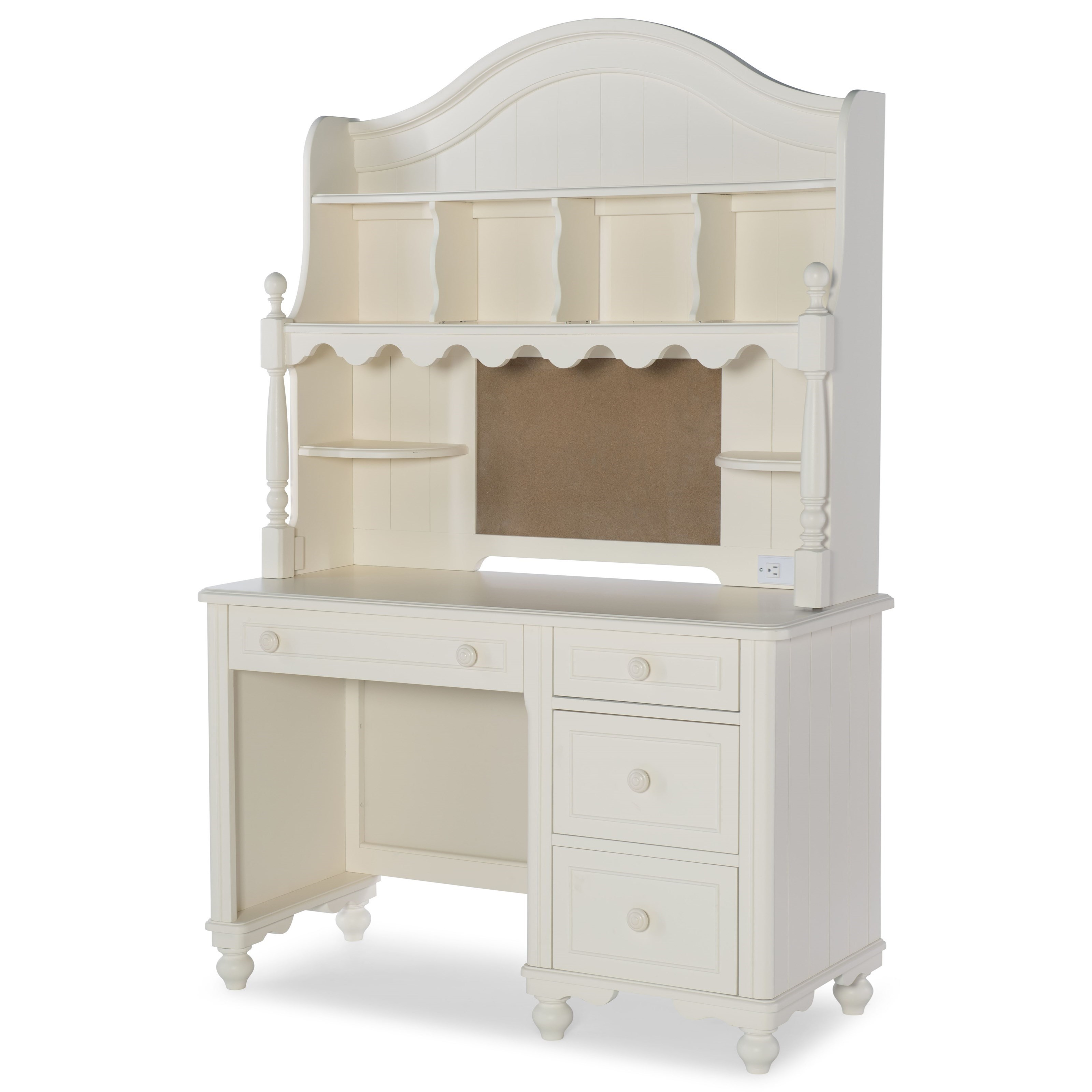 Summerset Desk with Hutch by Legacy Classic Kids at Mueller Furniture