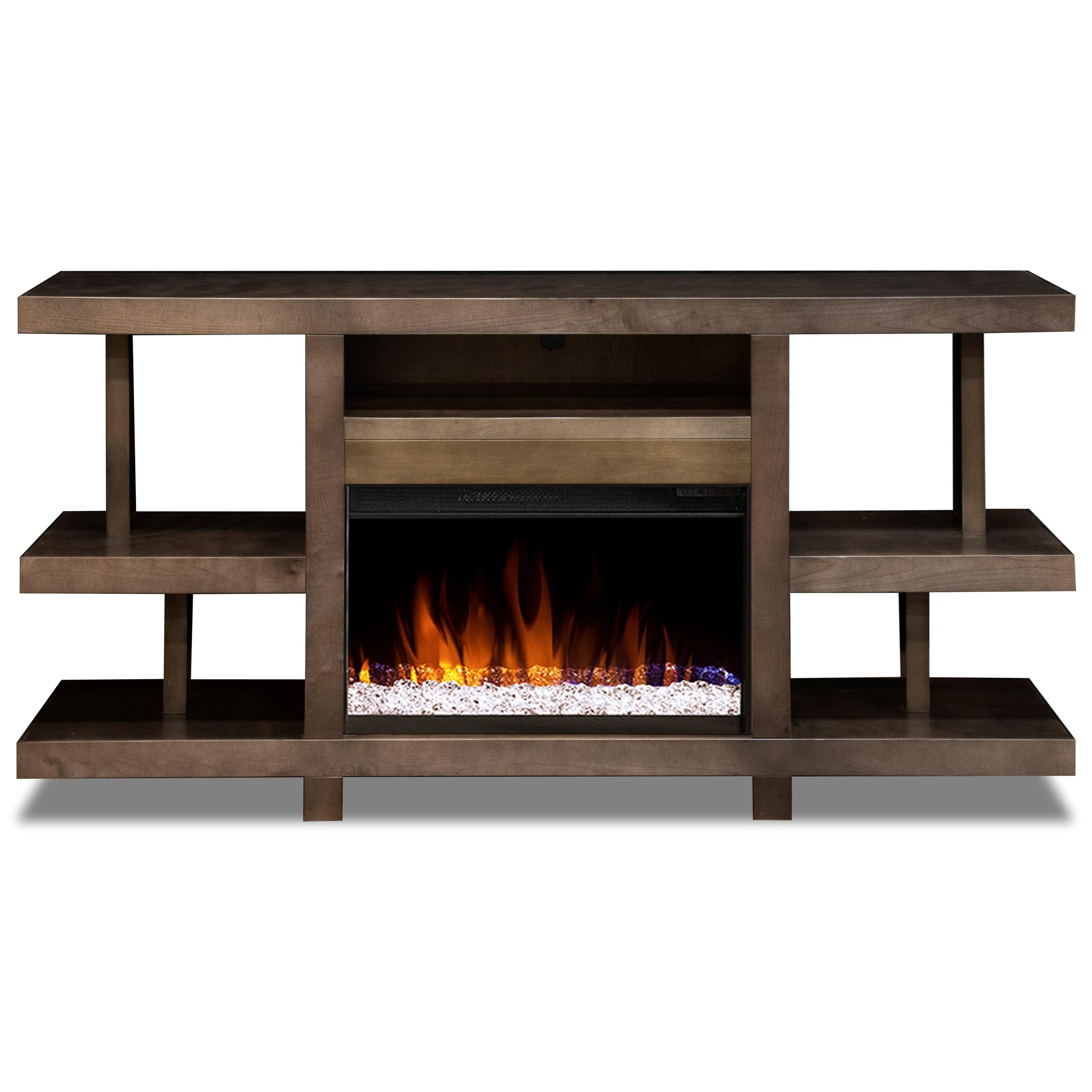 """Aurora 66"""" Fireplace Console by Legends Furniture at EFO Furniture Outlet"""