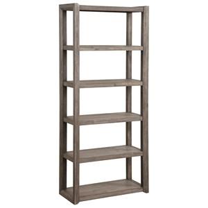Contemporary 5-Tier Bookcase