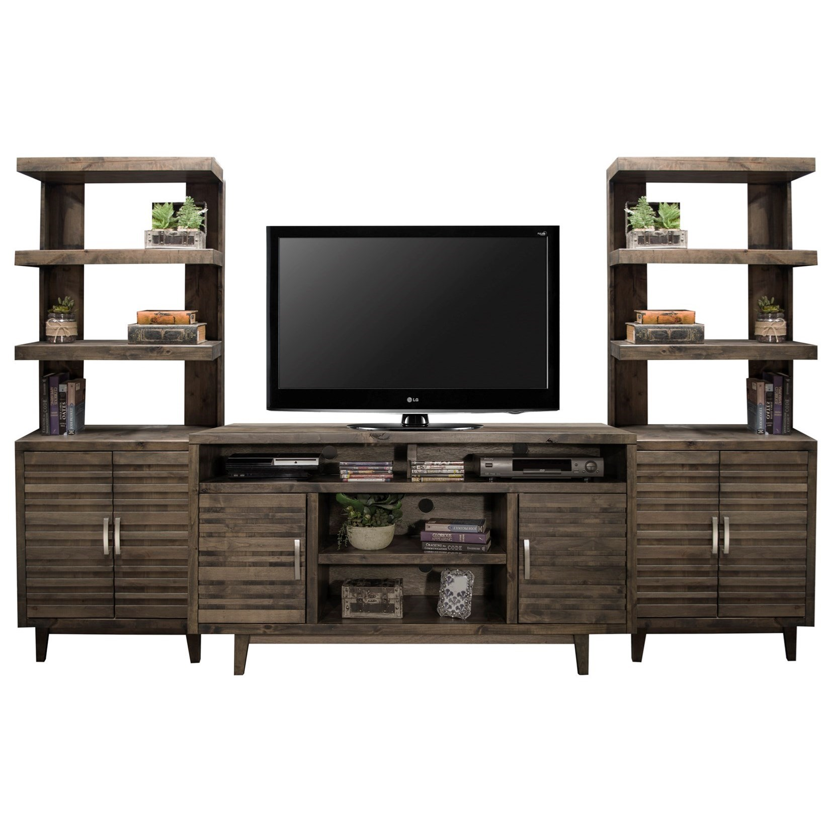 Avondale Entertainment Wall Console by Legends Furniture at EFO Furniture Outlet