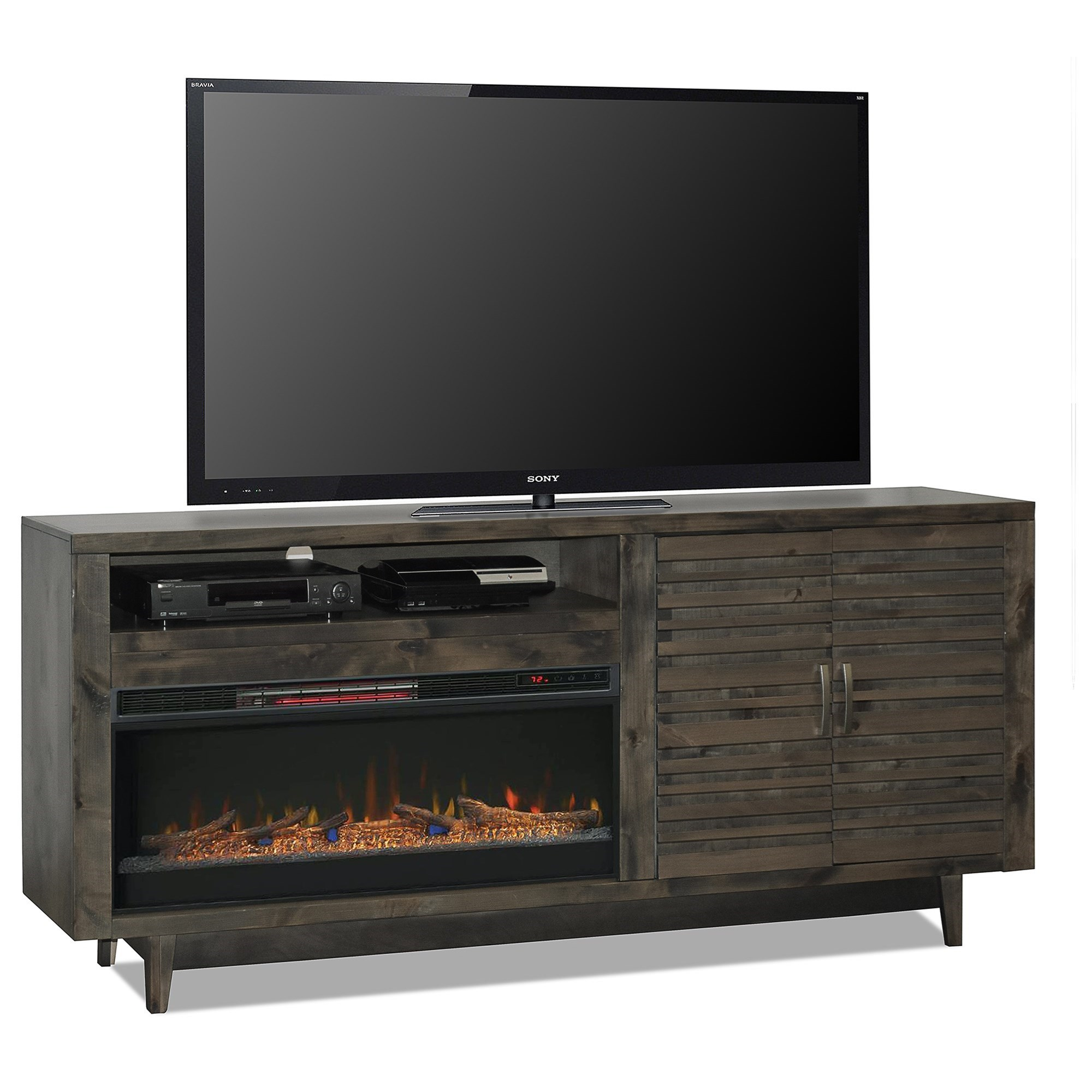 """Avondale 84"""" Fireplace Console by Legends Furniture at EFO Furniture Outlet"""
