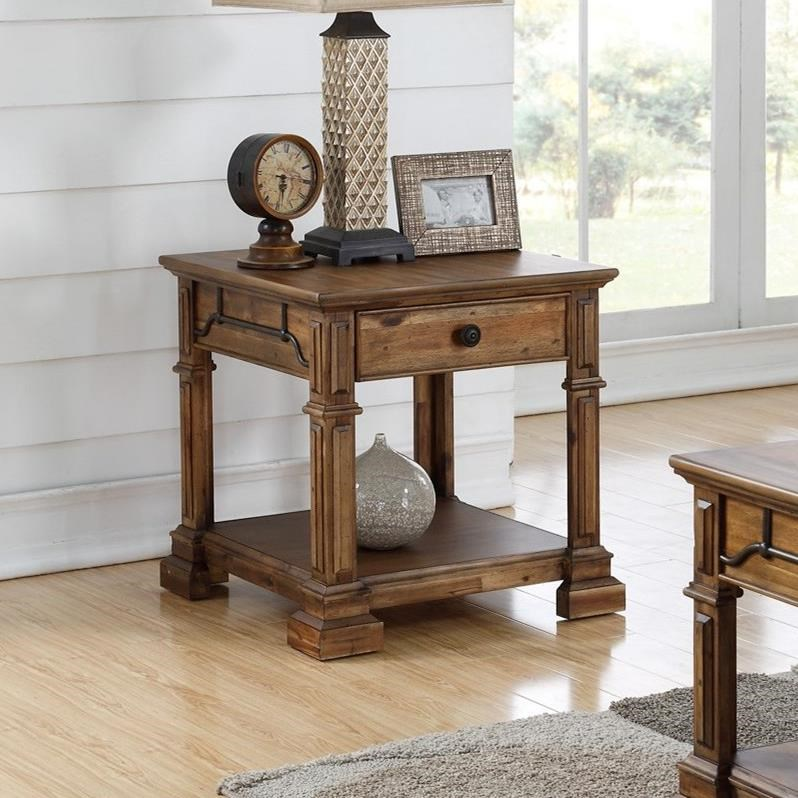 Barclay End Table by Legends Furniture at VanDrie Home Furnishings