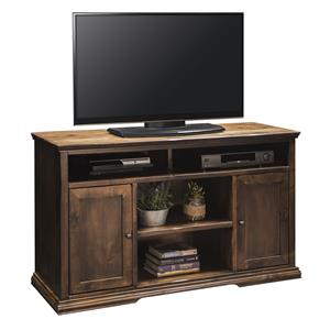 """52"""" TV Console in Aged Whiskey Finish"""