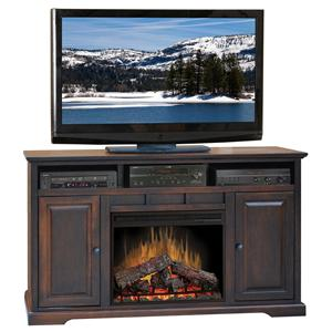 "Legends Furniture Brentwood Brentwood 64"" Fireplace Console"
