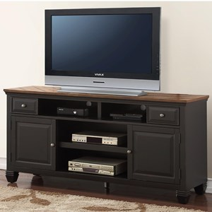 """68"""" TV Stand with 4 Shelves"""