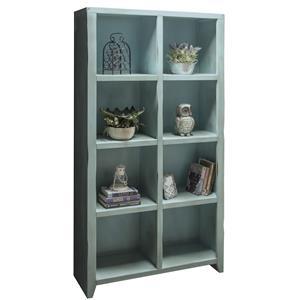 Legends Furniture Calistoga Collection Calistoga 8-Cubicle Bookcase
