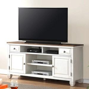 "Camden 68"" TV Console with Four Shelves"