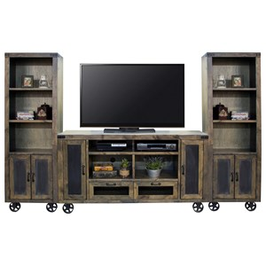 Legends Furniture Cargo Entertainment Wall Console