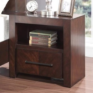 Night Stand with USB Ports