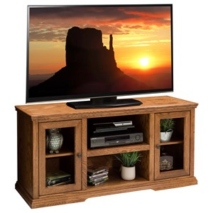 Two Door 54 Inch TV Console
