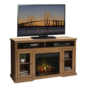 "59"" TV Console with Electric Fireplace"