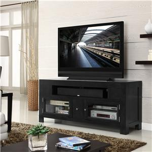 """62"""" Television Stand w/ 2 Doors"""