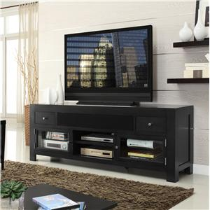 """76"""" Television Stand w/ 2 Doors"""