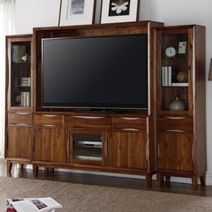 Legends Furniture Evo Entertainment Wall Console