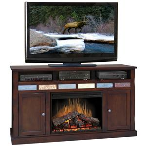 "Legends Furniture Fire Creek 62"" Fireplace Media Center"