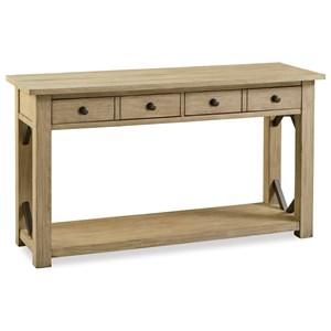 Transitional Sofa Table
