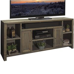 "65"" TV Console with 2 Doors and 7 Shelves"