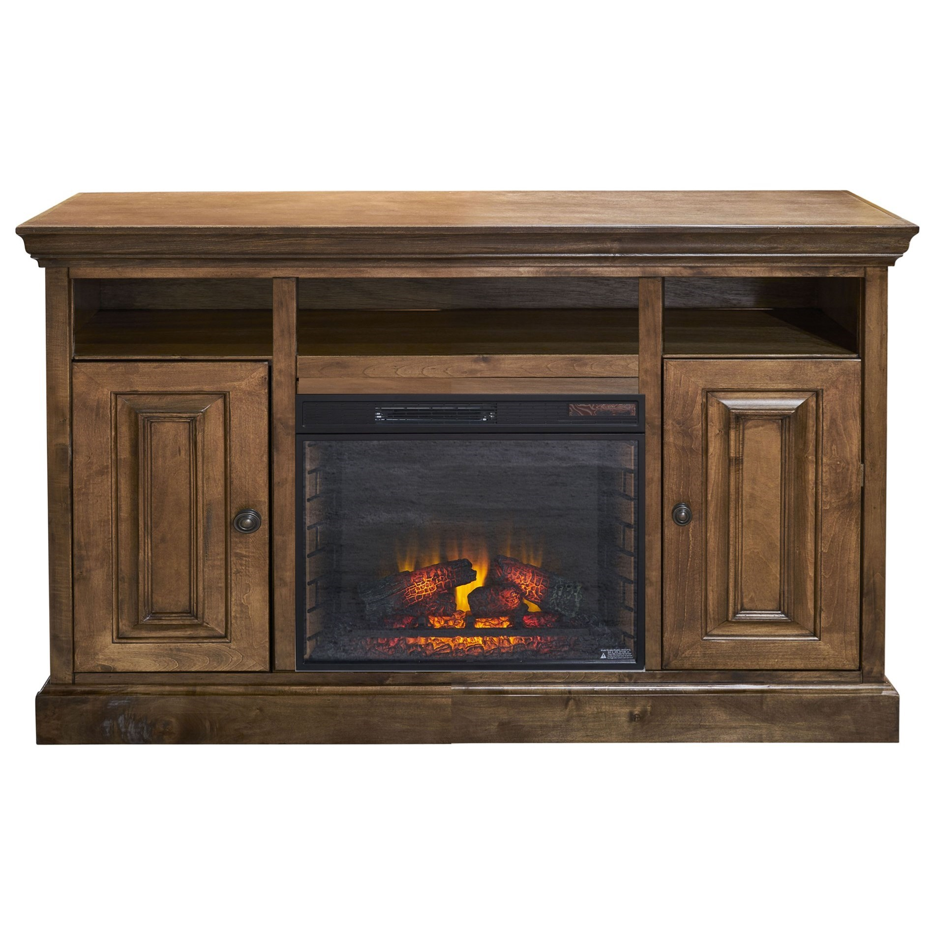 """Largo-LG 67"""" TV Stand with Fireplace by Legends Furniture at Darvin Furniture"""