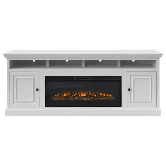 """Largo-LG 87"""" TV Stand with Fireplace  by Legends Furniture at EFO Furniture Outlet"""