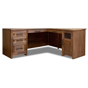 Contemporary L-Shaped Desk