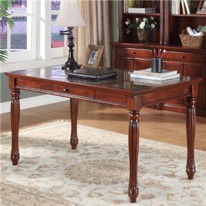 Ashley Furniture Cross Island Large Leg Desk Royal