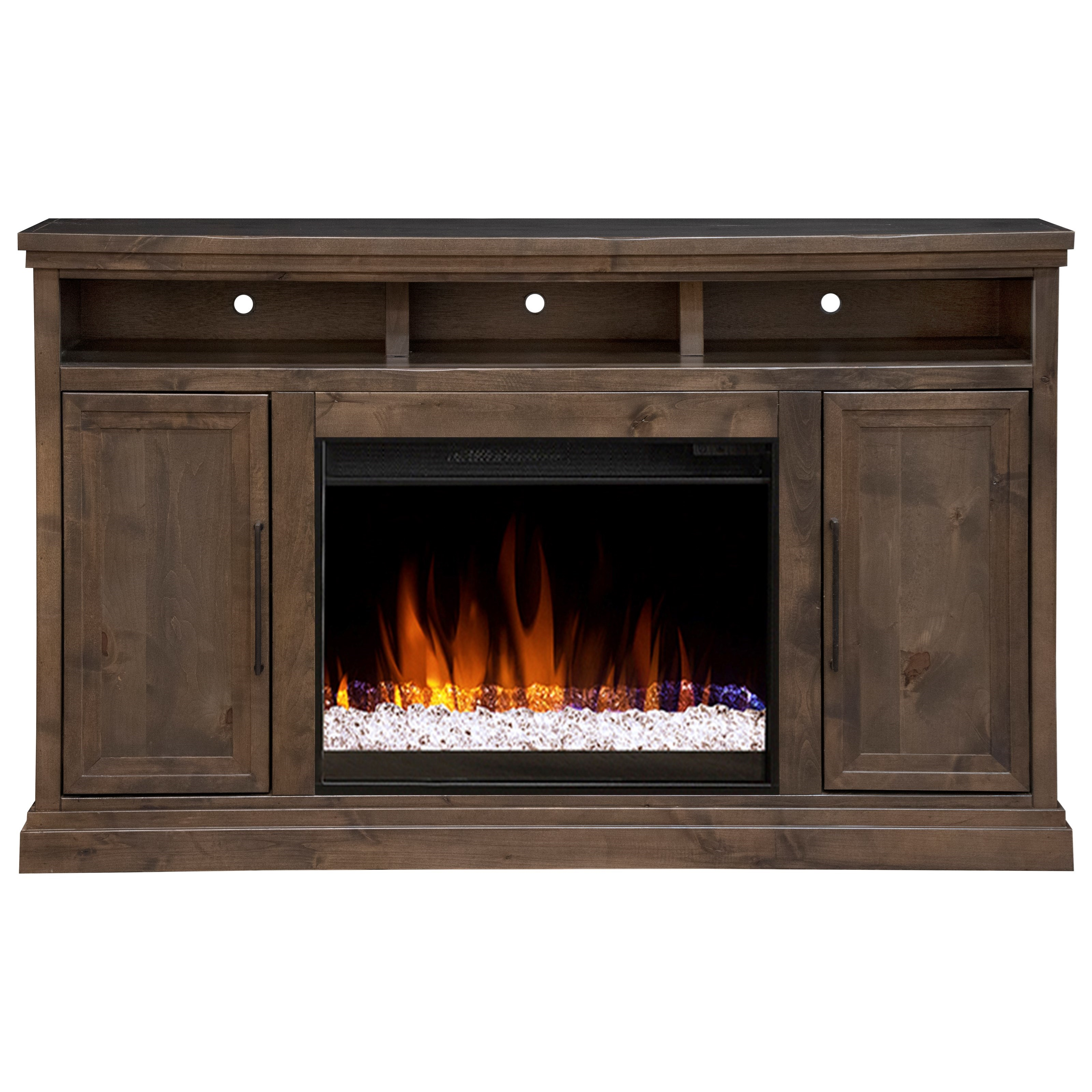 """65"""" TV Stand with Fireplace"""