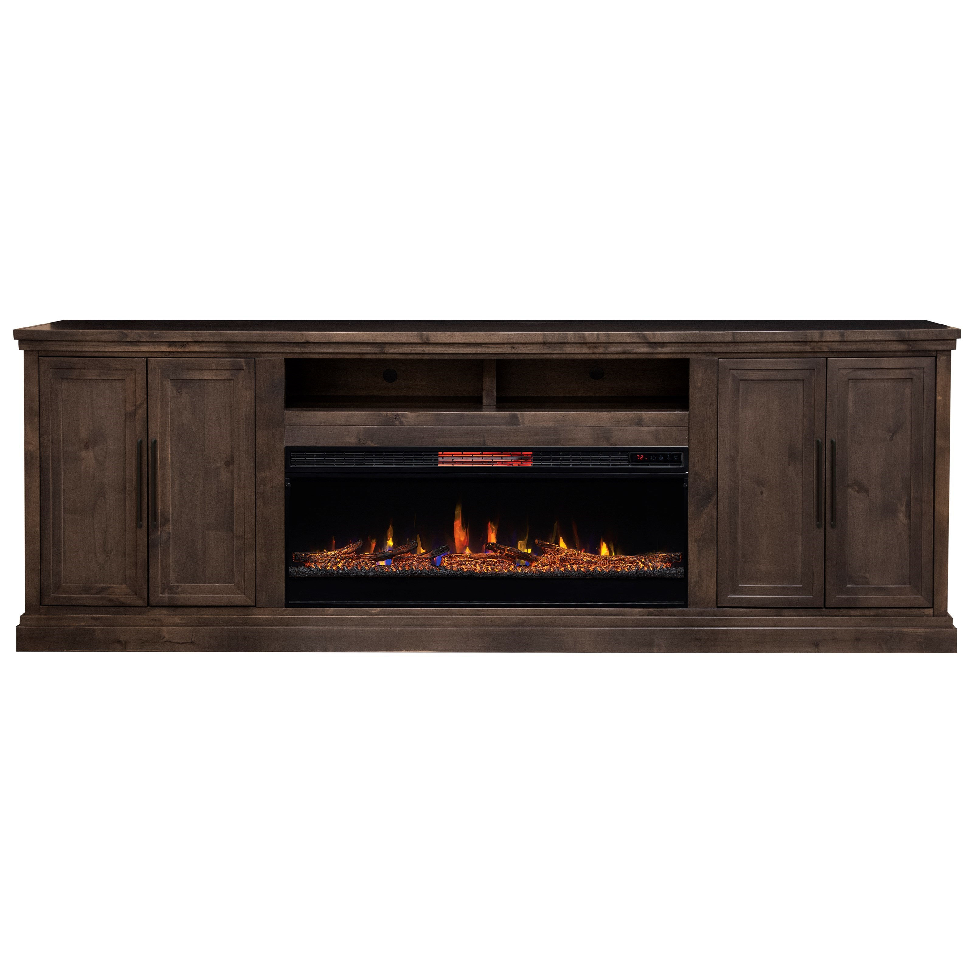 Monterey TV Stand with Built-In Fireplace  by Legends Furniture at VanDrie Home Furnishings