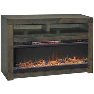 "Contemporary 48"" Fireplace TV Console"