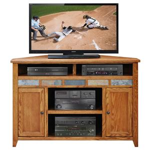 "Legends Furniture Oak Creek 56"" Corner TV Cart"