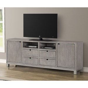 "Contemporary 84"" TV Console"