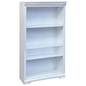 "Rustic 4-Tier 60"" Bookcase"