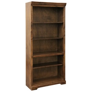 "Rustic 5-Tier 72"" Bookcase"