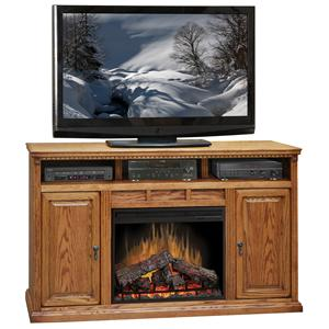 "Legends Furniture Scottsdale 62"" Fireplace Media Center"