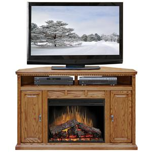 "Legends Furniture Scottsdale 56"" Corner Fireplace Media Center"
