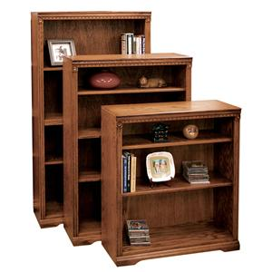 Legends Furniture Scottsdale Bookcase with 1 Fixed & 2 adj. Shelves