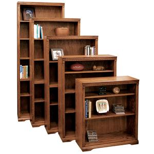Legends Furniture Scottsdale Bookcase with 1 Fixed & 3 adj. Shelves
