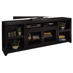 """85"""" TV Console with Two Glass Doors"""