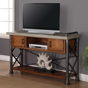 Legends Furniture Steampunk Collection Steampunk Sofa Table