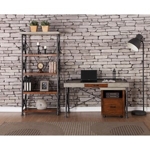 Legends Furniture Steampunk Collection Industrial Home Office Group
