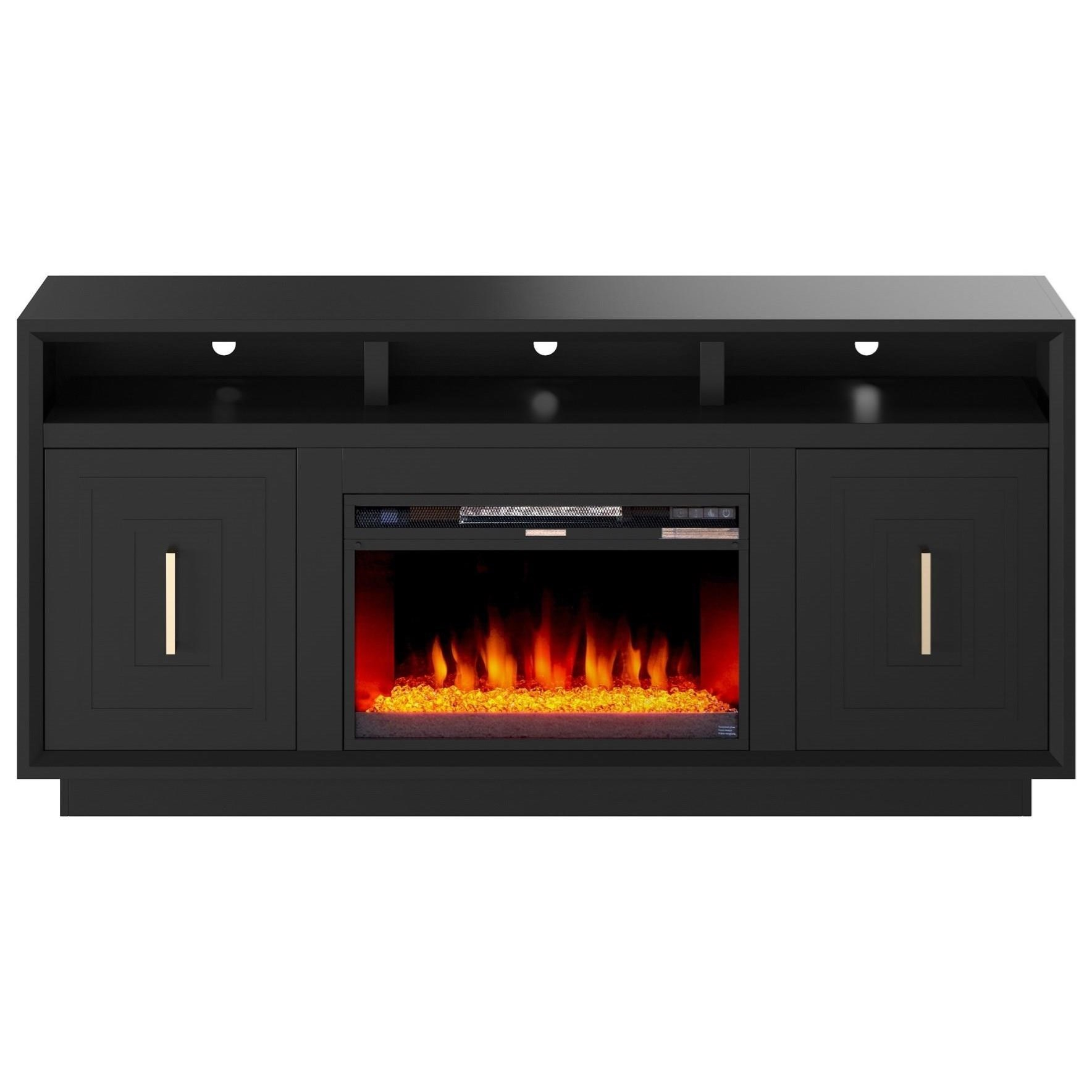 """Sunset 67"""" TV Stand with Fireplace  by Legends Furniture at Darvin Furniture"""