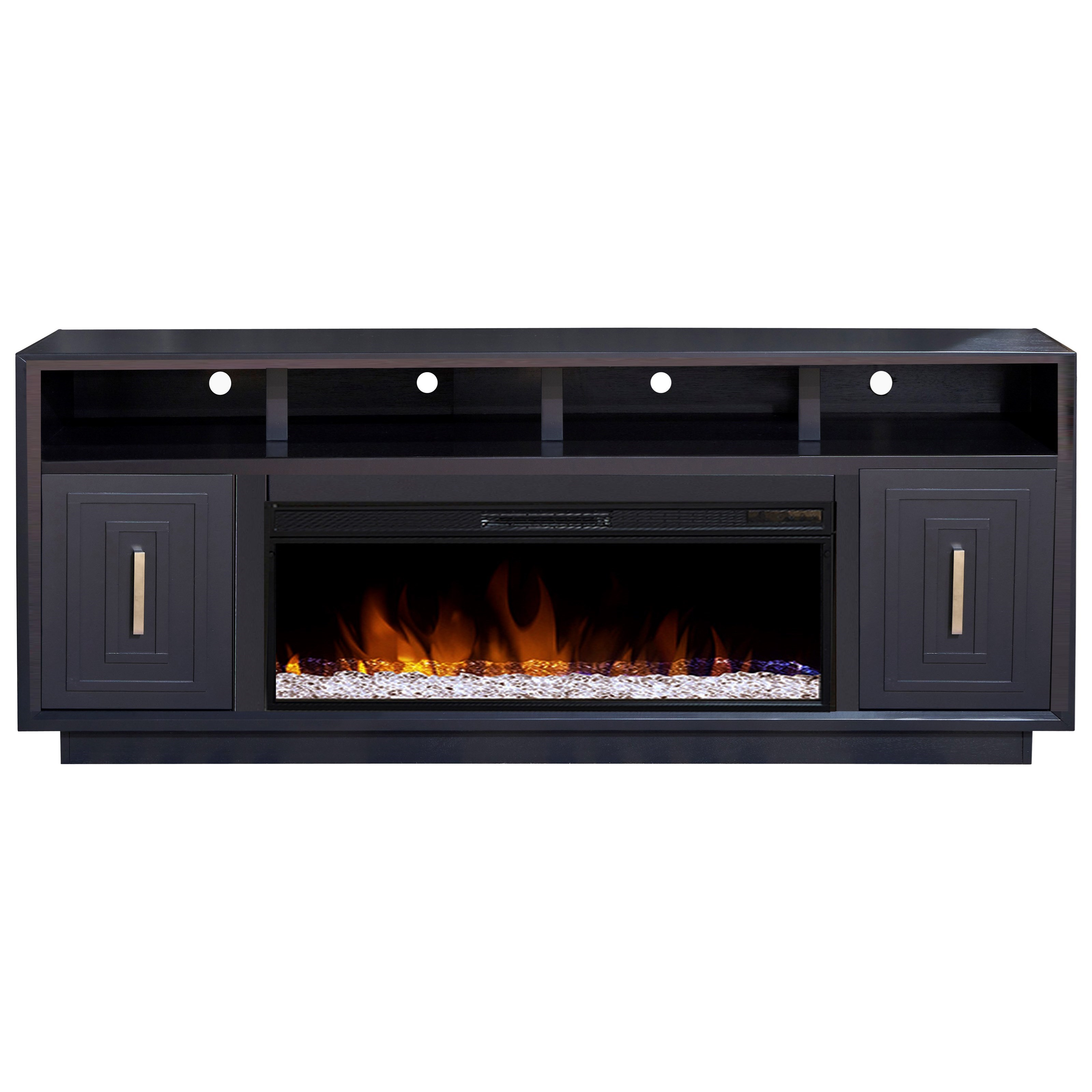 """Sunset 83"""" TV Stand with Fireplace  by Legends Furniture at Home Furnishings Direct"""