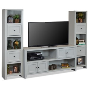 Contemporary Entertainment Wall Unit