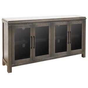 """Contemporary 4 Door 62"""" TV Console"""
