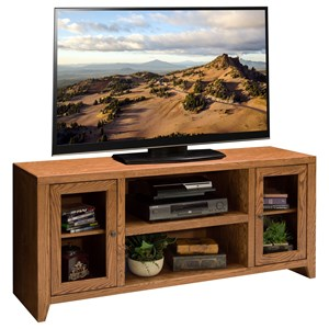 60 inch TV Console with Six Shelves