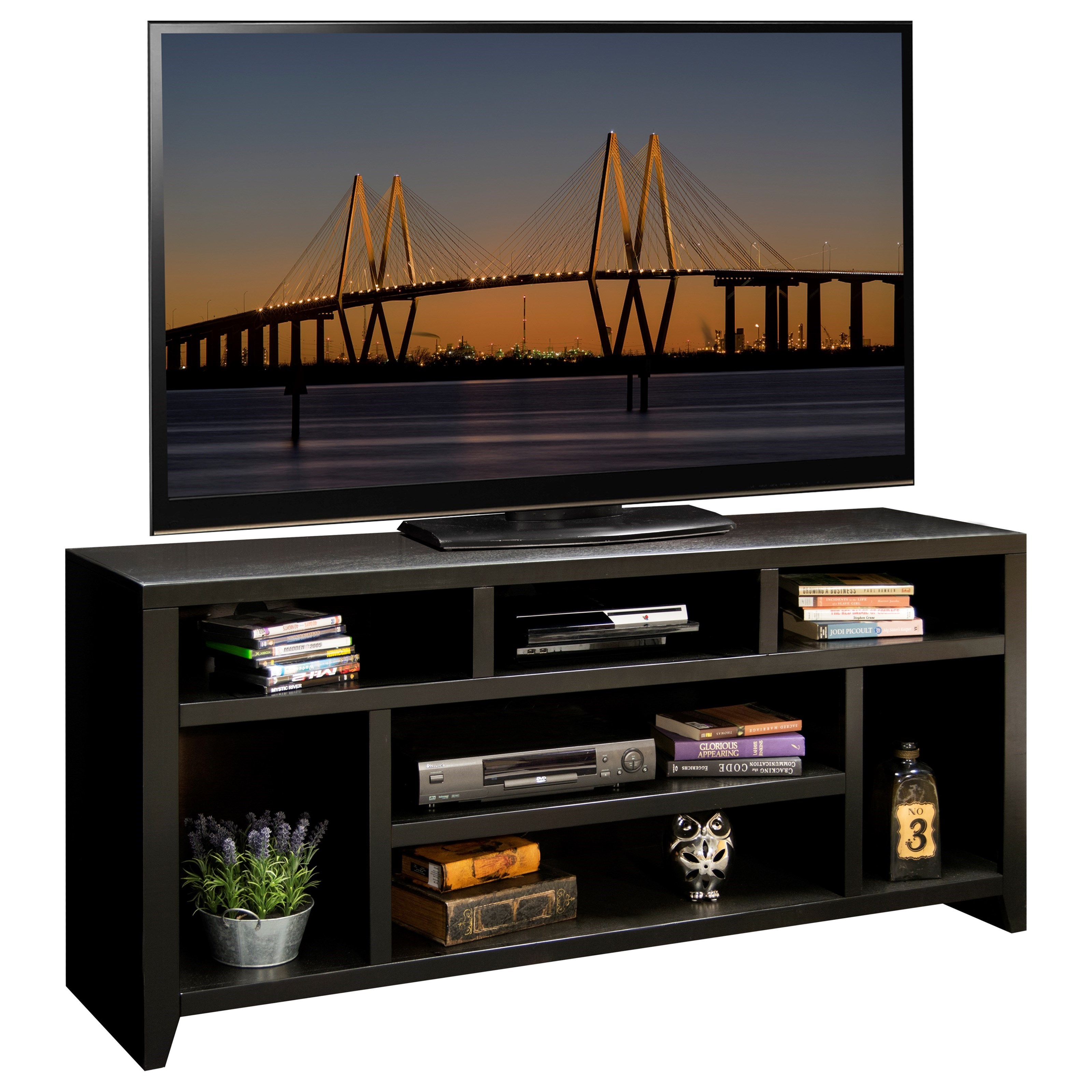 """Urban Loft 66"""" TV Console by Legends Furniture at VanDrie Home Furnishings"""