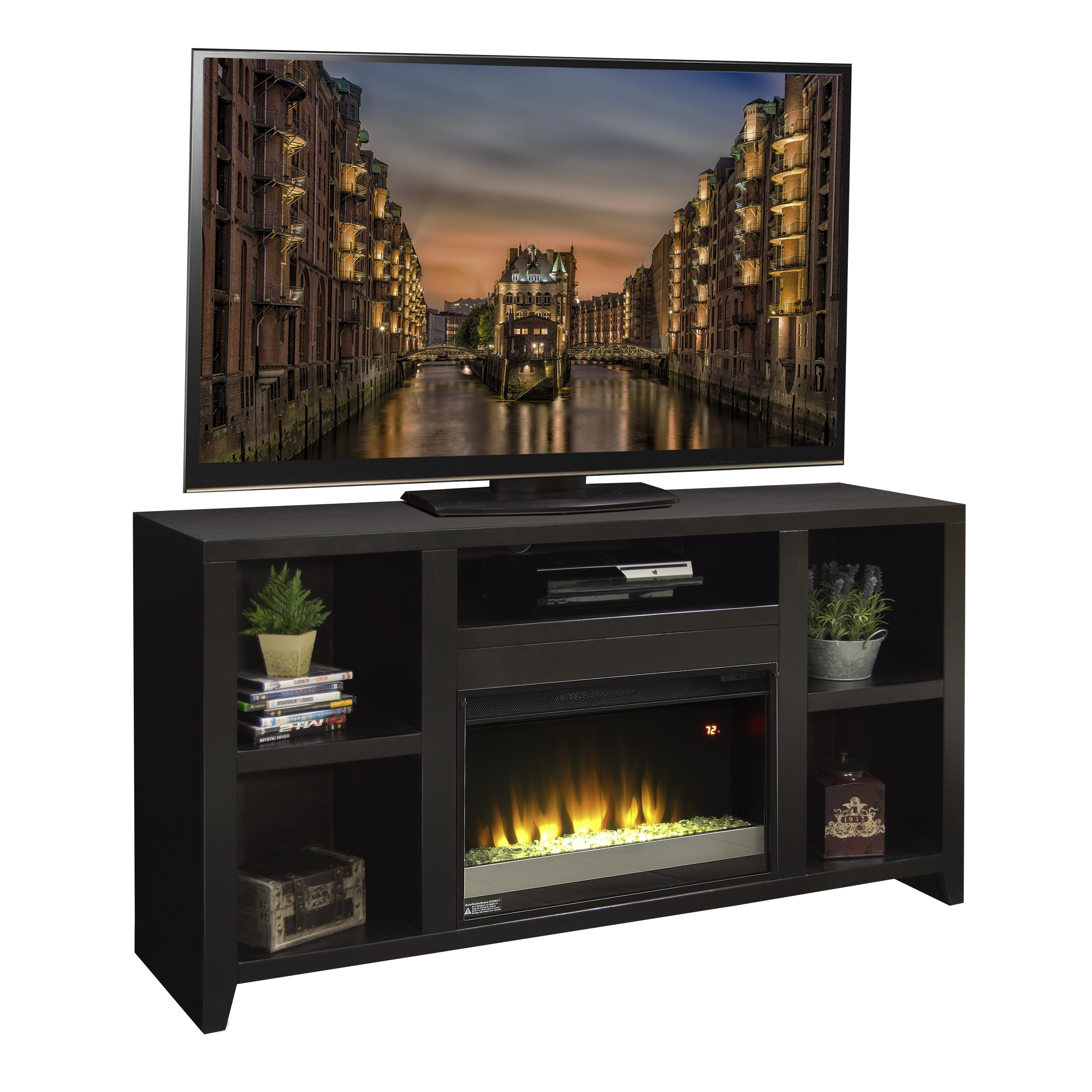 "Urban Loft 63"" Fireplace TV Console by Legends Furniture at Home Furnishings Direct"